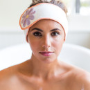 Paige White Headband Bathtub